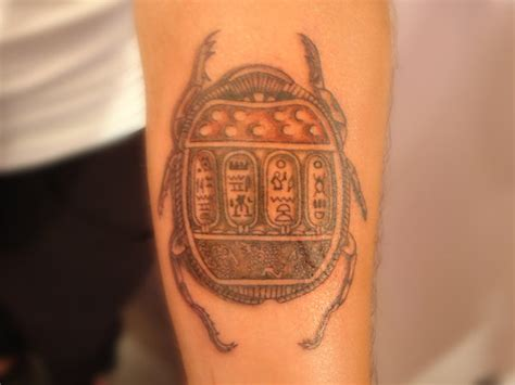 scarab beetle tattoo meaning
