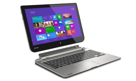 toshiba satellite 13 3 quot 2 in 1 touchscreen tablet laptop groupon