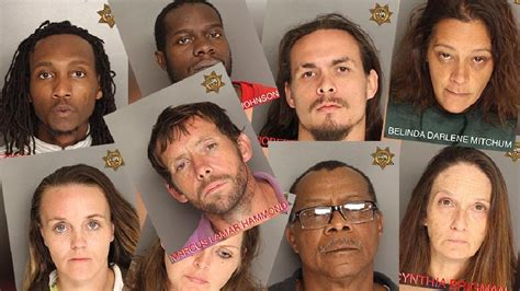 Bcso Warrants Search 20 Arrests Made After Bcso Operation Targeting Several