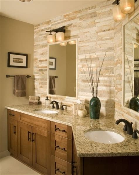 backsplash bathroom ideas magnificent new venetian gold granite look chicago
