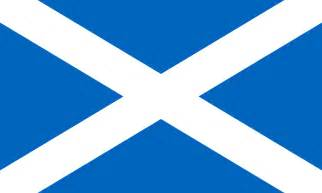 scottish colors flag of scotland