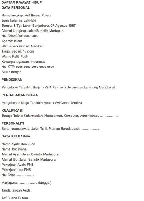 format biodata lengkap mahasiswa contoh biodata umum oliv asuss