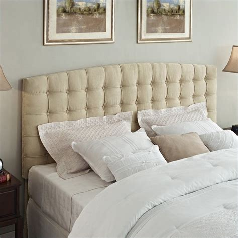 beige tufted headboard king tufted panel headboard in beige da4015hk bg