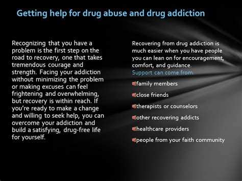 How To Help A Heroin Addict Detox by Abuse And Addiction Ppt