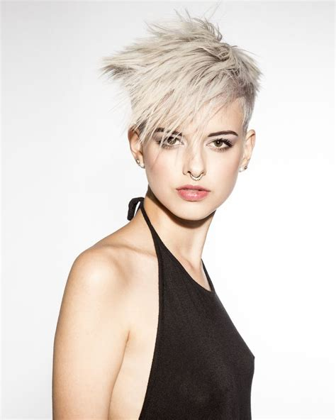 short edgy hairstyles pinterest styled by tristen david winner of the student cut