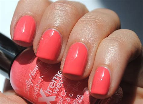 coral color nails top 10 great color combos for 2014 smashing tops
