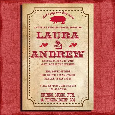 barbecue wedding reception invitation wording 77 best quot i do quot bbq engagement images on