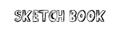 sketch book font sketch book font comments