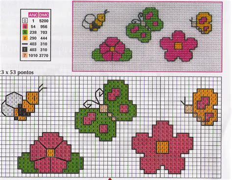 punto croce schemi fiori schemi fiori spunti e creazioni