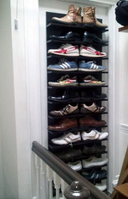 Sneaker Rack Solutions by Unique Shoe Storage Display Solution Ikea Hackers Ikea Hackers
