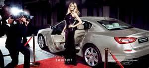 Heidi Klum Maserati Heidi Klum For 2014 Maserati Caign