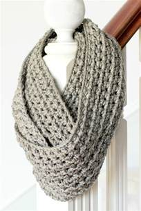 Crocheted Infinity Scarf 42 And Cozy Diy Scarves Crafts To Make