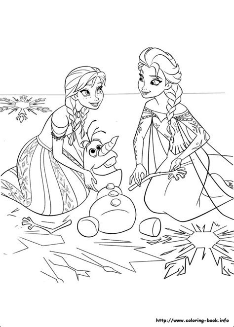 frozen coloring pages a4 printable frozen bojanke