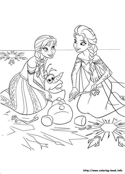 frozen winter coloring pages frozen bojanke
