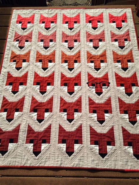 Fox Quilt Pattern by 17 Best Ideas About Fox Quilt On Fox Pillow