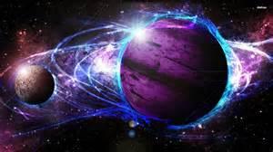 desktop plant light cosmos galaxy energy light planet hd wallpaper