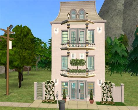 mod the sims albany house cc free