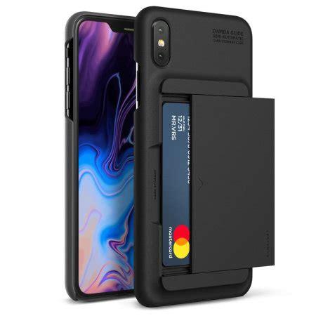 vrs design damda glide iphone xs max charcoal black