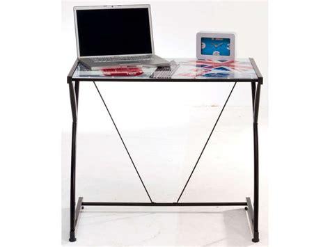bureau verre conforama bureau