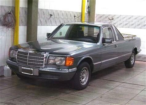 truck bed cls w126 el pickup mercedes pinterest mercedes benz