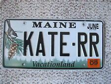 Maine Vanity License Plates by All Things Chickadee On Chickadees Marjolein