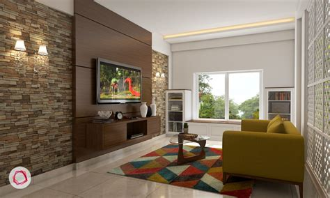 drawing room wall design 6 stunning tv wall designs for your living room