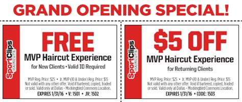 Mvp Haircuts Coupons | sponsored get the mvp treatment at sport clips lakewood