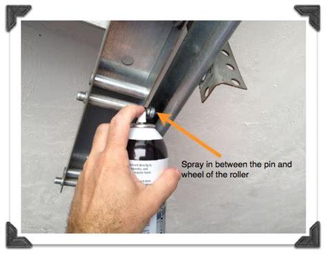 How To Lubricate Garage Door 17 Best Ideas About Garage Door Rollers On Glass Garage Door Overhead Garage Door