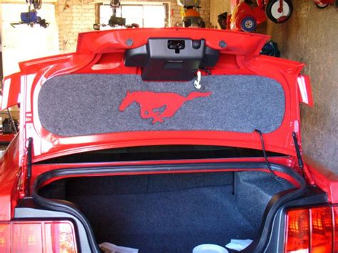 Where To Buy Mat by Trunk Lid Mat Where To Buy The Mustang Source Ford