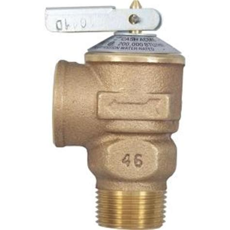 Outdoor Faucet Pressure Relief Valve by Acme 3 4 In Brass Fwl 2 Pressure Relief Valve 14737