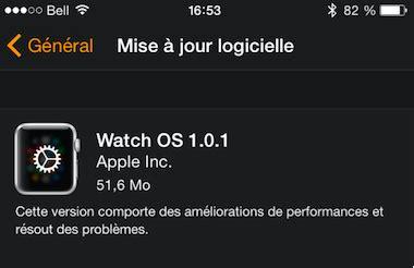 arrive hier soir la mise jour mac os x 1068 apporte son petit comment installer une mise 224 jour sur l apple watch