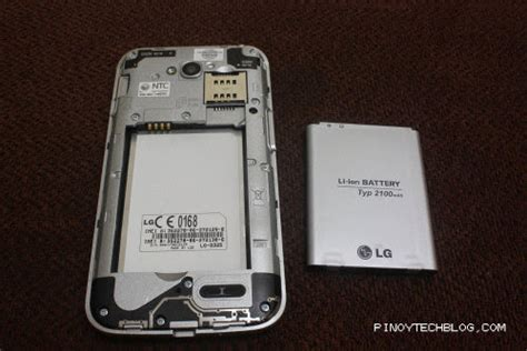 Battery Hp Lg L70 lg l70 dual on and unboxing tech