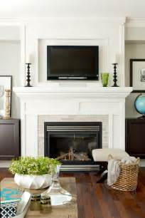 hanging your tv the fireplace yea or nay driven