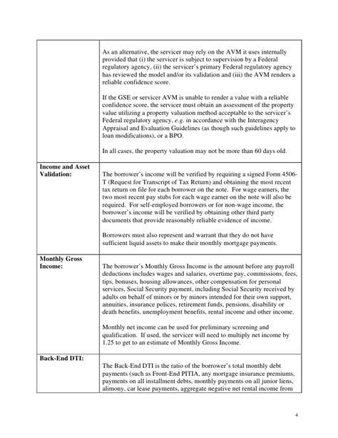 home modification program guidelines white house