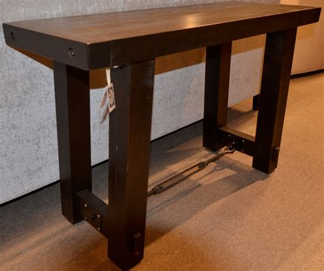 Yukon Console Table Yukon Turnbuckle Sofa Table Brices Furniture