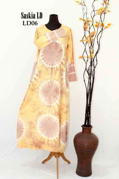 Gamis Katun Bunga Promo gamis katun modern saskia rp 50rb model baju muslimah