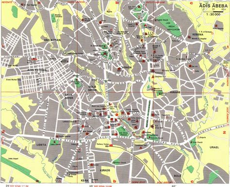 the city of map large addis ababa maps for free and print high
