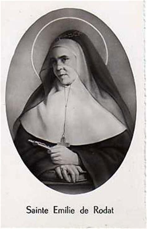 St Emily st emily de rodat saints catholic