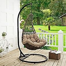 abate outdoor patio swing chair modway abate patio stand alone swing chair bed bath beyond