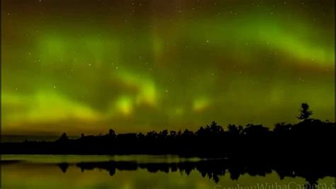 Northern Lights Torrance Barrens Ontario Canada From Torrance Lights