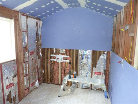 drywalling a bathroom our quot murder quot bathroom total renovation diydork com