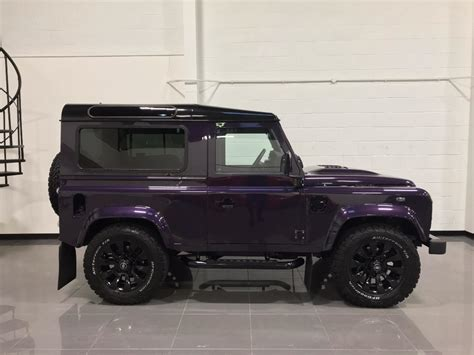 land rover purple used merlin purple land rover defender for sale