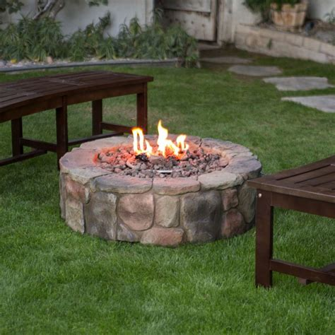 Backyard Propane Pit Backyard Propane Fire Pit Outdoor Goods