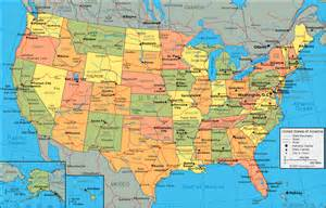 city map of the united states march 2009 eighteen and