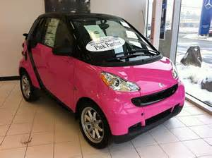 pink smart car pink smart car image 2298381 by saaabrina on favim