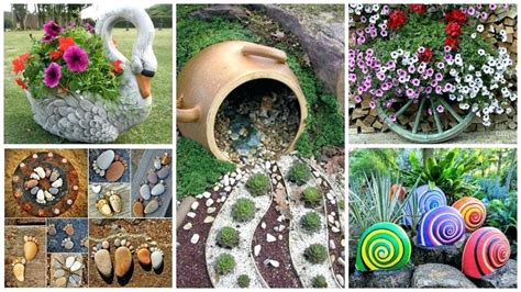 Garden Decoration Ideas From Waste Material by Garden Decoration Ideas Slimproindia Co