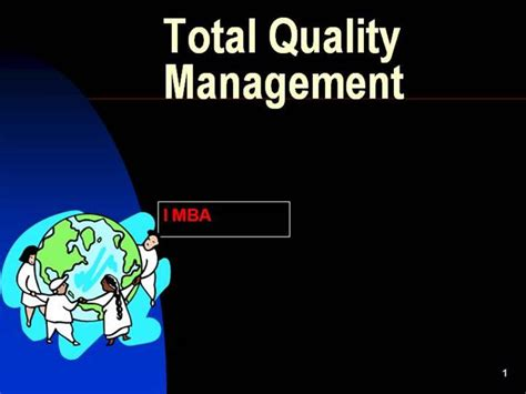 Mba Total Quality Management Pdf by Tqm Intro Authorstream