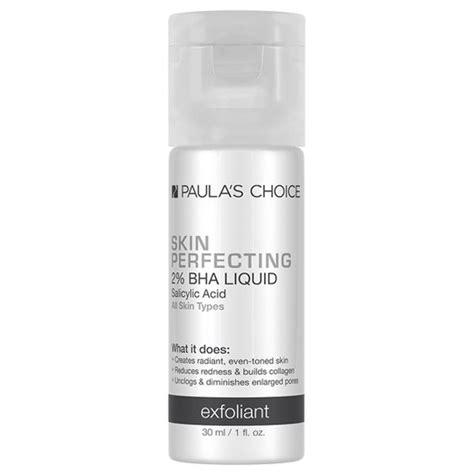 Skin Perfecting 2 Bha Liquid Exfoliant Sachet paula s choice skin perfecting 2 bha liquid exfoliant trial size 30ml free delivery