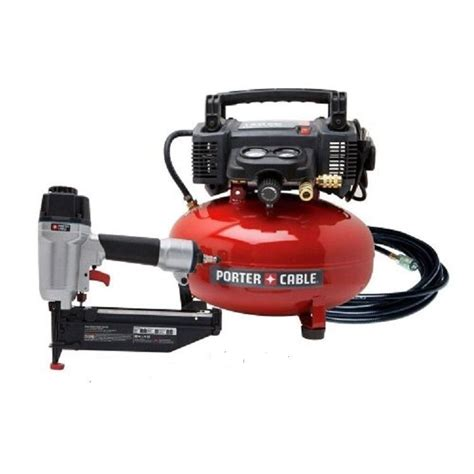 porter cable finish nailer fn250c nail gun c2002 air compressor combo pcfp72671 ebay
