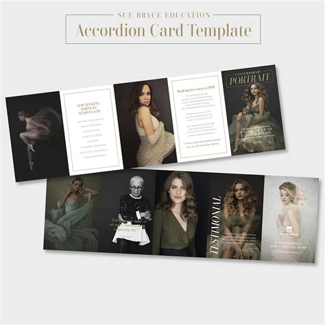 accordion card psd templates free accordion card template sue bryce education
